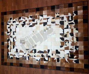 چرم گاوی مخصوص تولید فرش